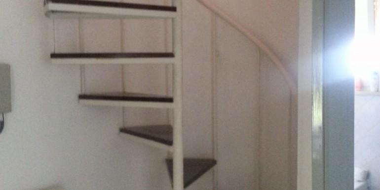stairs to the mansard