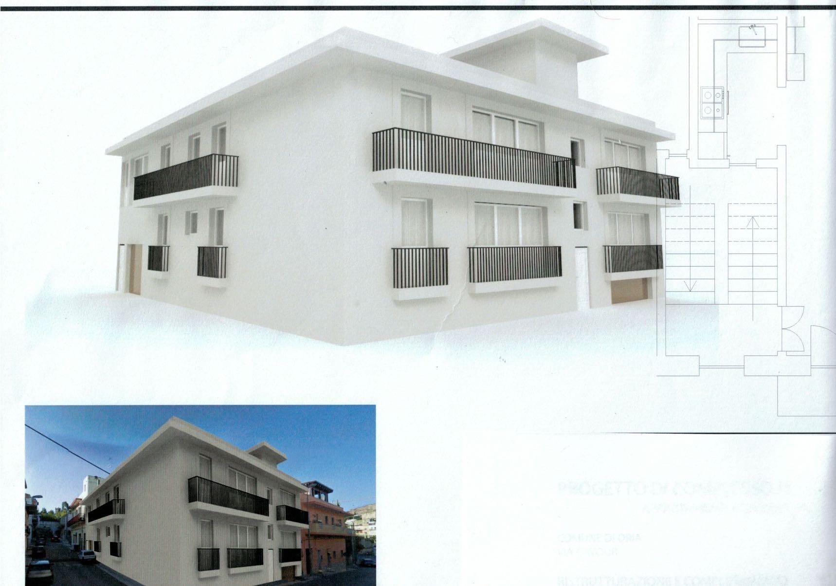Nuovo complesso residenziale Via Cavour – Oria (Br) rif. 395