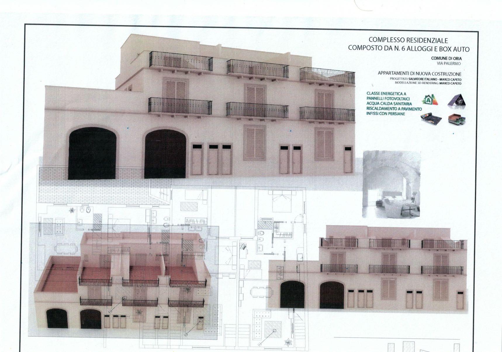 Nuovo complesso residenziale – Oria (Br) rif.394